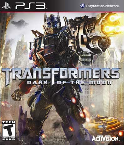 PS3 - Transformers: Dark of the Moon - By Activision