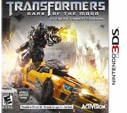 Nintendo 3DS - Transformers: Dark of the Moon - By Activision