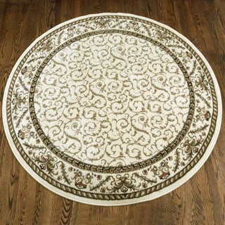 Amalfi Transitional Area Rug (5'3 Round)