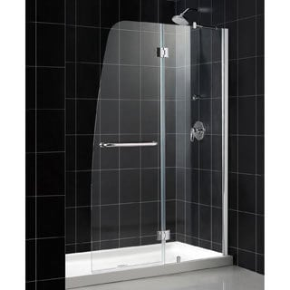 DreamLine Aqua 48x72-inch Clear Glass and Chrome Shower Door