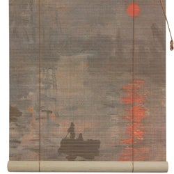Bamboo 'Impression Sunrise' Window Blinds (60 in. x 72 in.) (China)