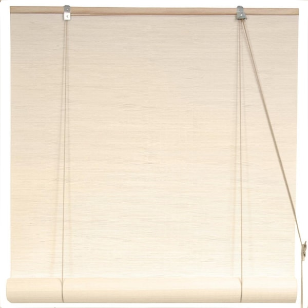 Bamboo White Window Blinds (60 in. x 72 in.) (China)