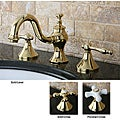 Lava Polished Brass Widespread Bathroom Faucet
