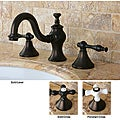 Lava Widespread Oil Rubbed Bronze Bathroom Faucet