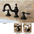 Lava Widespread Oil Rubbed Bronze Bathroom Faucet