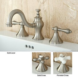 Lava Satin Nickel Widespread Bathroom Faucet