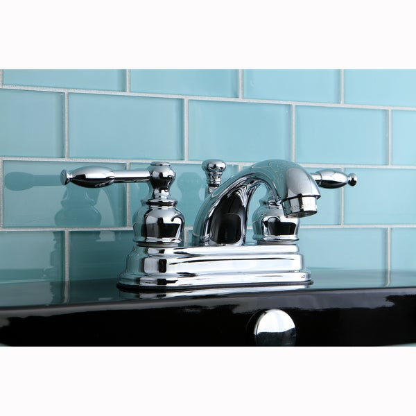 Knight Chrome Centerset Bathroom Faucet