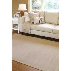 Hand-woven Autumn Multi Natural  Fiber Jute Rug (8' x 10')
