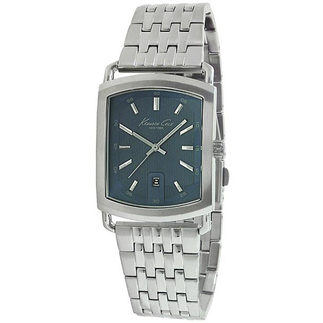 Kenneth Cole Men's Blue Dial Stainless Steel Watch