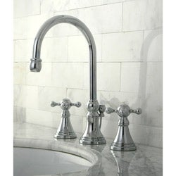 Governor Chrome Widespread Bathroom Faucet