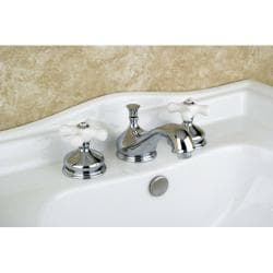 Heritage Widespread Chrome Bathroom Faucet