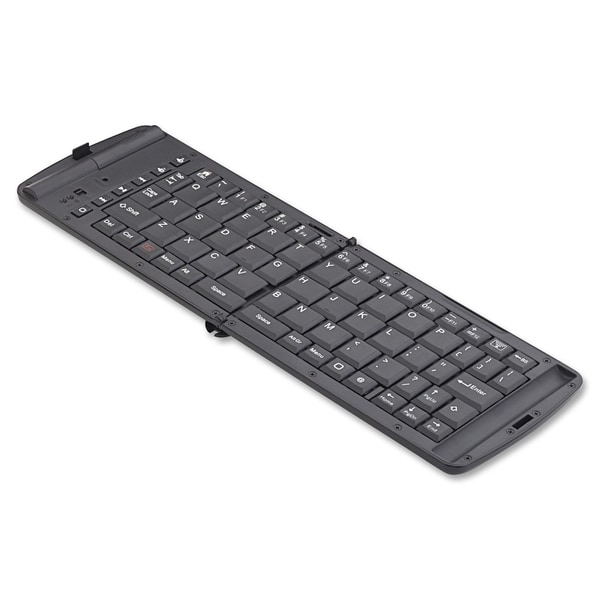 Verbatim Bluetooth Wireless Folding Mobile Keyboard - Black
