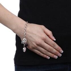 La Preciosa Sterling Silver Cubic Zirconia Bracelet