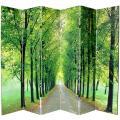 Canvas 6-foot 6-panel Path of Life Room Divider (China)