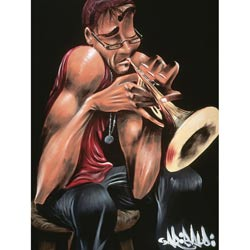 David Garibaldi 'Moving Fingers' Gallery-wrapped Giclee Canvas Art