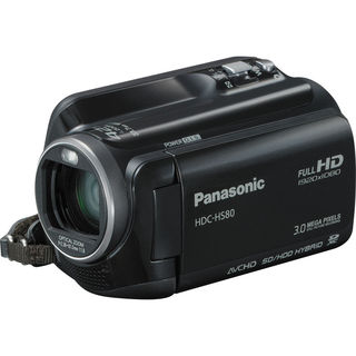 "Panasonic HDC-HS80 Digital Camcorder - 2.7"" - Touchscreen LCD - CMOS"