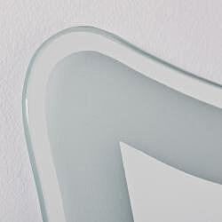 Coquette Frame-less Bathroom Mirror