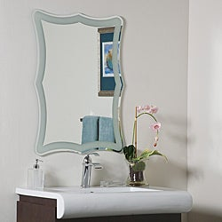 Coquette Frame-less Bathroom Mirror