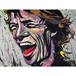 David Garibaldi Mick Gallery-wrapped Canvas Art