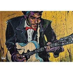 David Garibaldi Chuck Berry Gallery-wrapped Canvas Art