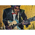 David Garibaldi Chuck Berry Gallery-wrapped Canvas Art