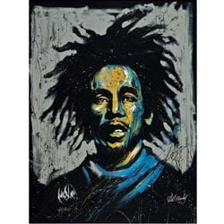 David Garibaldi 'Bob Marley Redemption' Gallery-wrapped Giclee Canvas Art