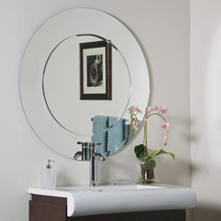 Oriana Round Modern Bathroom Mirror