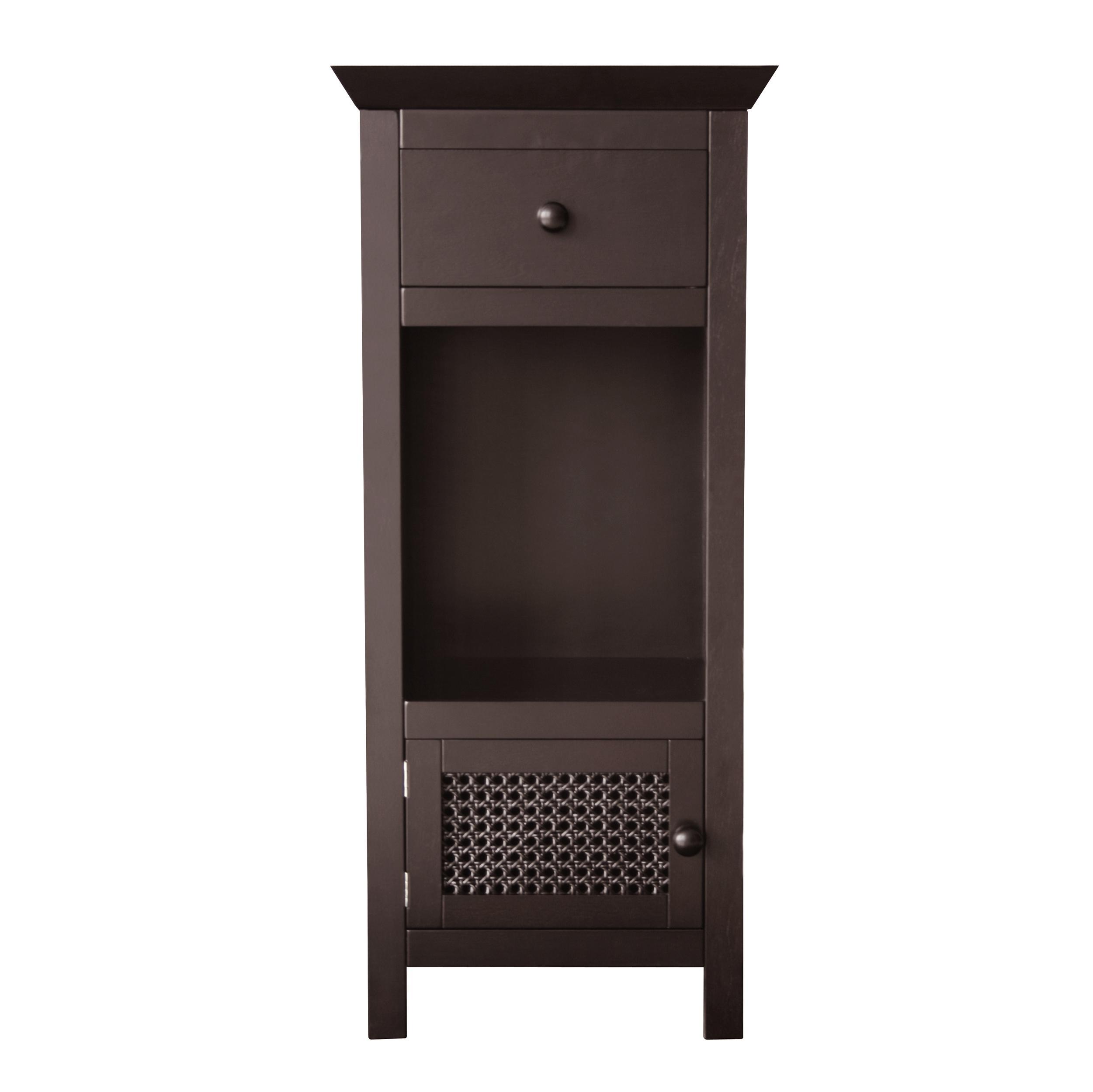 Jasper Dark Espresso Floor Storage Cabinet