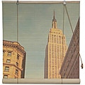 Bamboo Empire State Building Window Blinds (24-in x 72-in) (China)