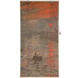 Bamboo 'Impression Sunrise' Window Blinds (24 in. x 72 in.) (China)