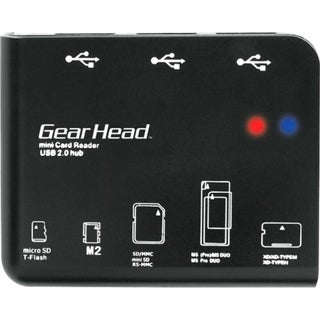 Gear Head CR7500H 58-in-1 USB 2.0 Flash Card Reader/USB Hub Combo