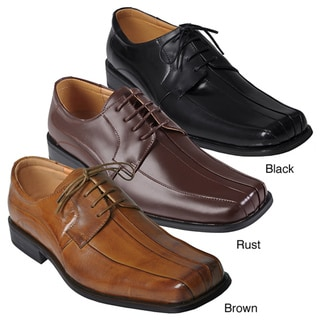 Boston Traveler Men's Genuine Leather Oxfords