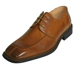 Boston Traveler Men's Faux Leather Oxfords