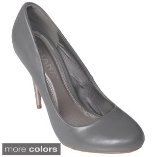 Liliana by Journee Co Women's 'Kathy' Round Toe Stilettos