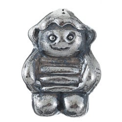 Sterling Essentials Sterling Silver Little Boy Bead