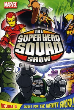 The Super Hero Squad Show: Quest For The Infinity Sword Vol 4 (DVD)
