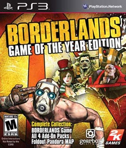 PS3 - Borderlands GotA Edition