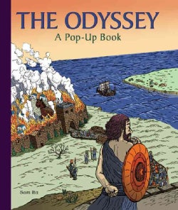 The Odyssey: A Pop-Up Book (Hardcover)