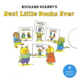 Richard Scarry's Best Little Books Ever (Board book)