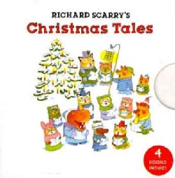 Richard Scarry's Christmas Tales (Board book)