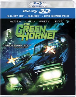 The Green Hornet 3D (BD/DVD Combo) (Blu-ray/DVD)