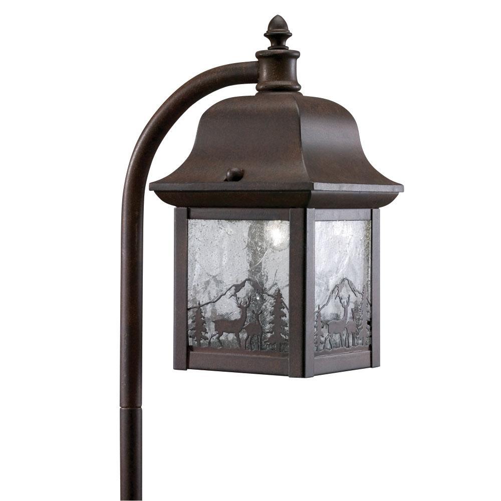 Antique Bronze 1 light Landscape Lantern