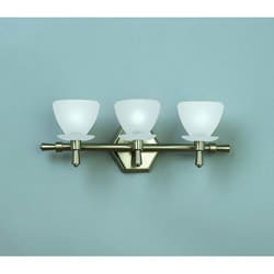 Brushed Nickel 3-light Vanity Fixture