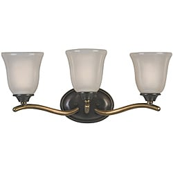 Olde Bronze 3-light Vanity Fixture