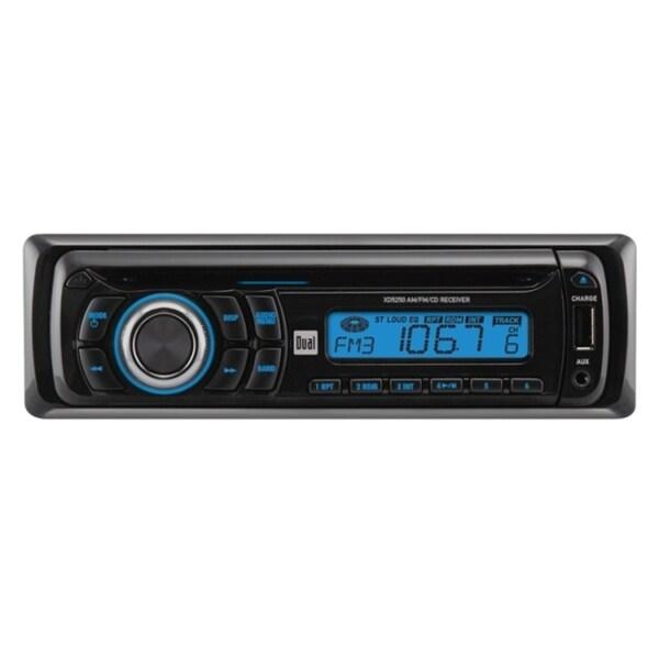 Dual XD5250 Car CD Player - 28 W RMS - Single DIN