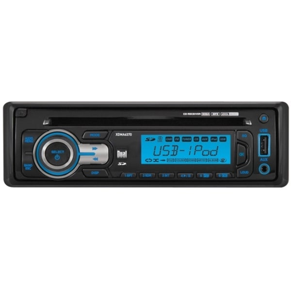 Dual XDMA6370 Car CD/MP3 Player - 72 W RMS - iPod/iPhone Compatible -