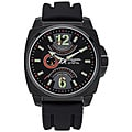 Jorg Gray Men's Black Silicon Strap Watch