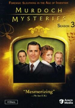 Murdoch Mysteries Season 3 (DVD)