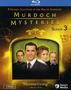 Murdoch Mysteries Season 3 (Blu-ray Disc)