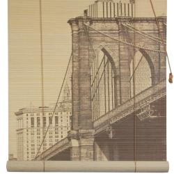 Bamboo Brooklyn Bridge Blinds (24 in. x 72 in.) (China)